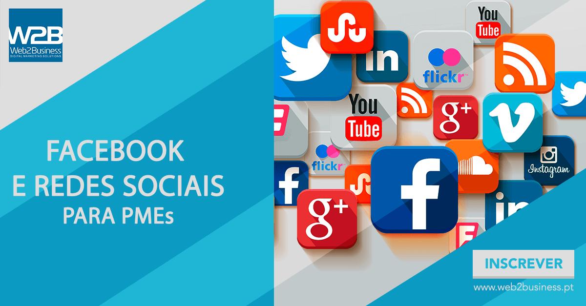 facebook e redes sociais para pmes