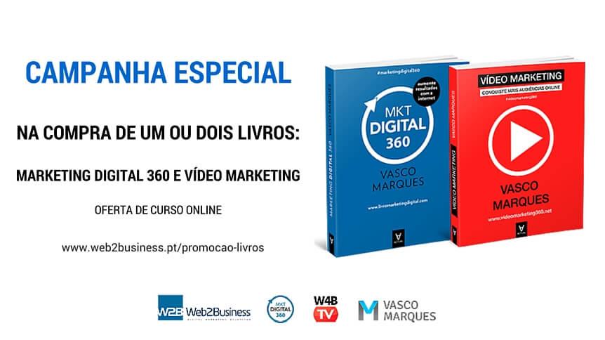 campanha especial livros com oferta de curso onlie